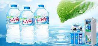 Đại lí phân phối thùng nước khoáng lavie 350ml quận Tân Bình