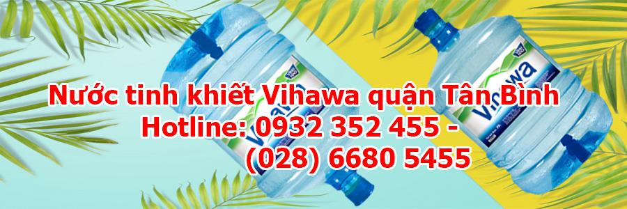 Nước tinh khiết Vihawa quận Tân Bình