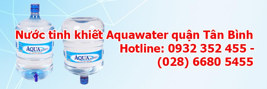 Nước tinh khiết Aquawater quận Tân Bình