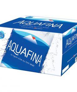 thùng nước suối aquafina 500ml