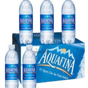 Thùng Aquafina 350ml-24 chai