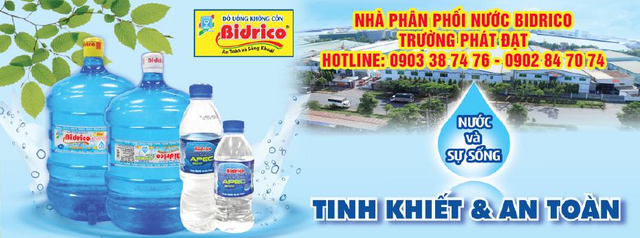 Đại lý phân phối nước Bidrico Trường Phát Đạt