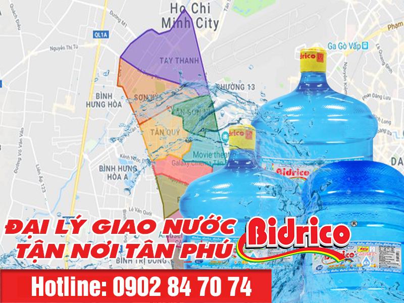 đại lý nước Bidrico Tân Phú