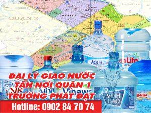 giao nước uống quận 1