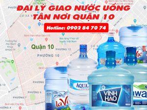 giao nước uống quận 10