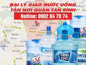 giao nước uống quận Tân Bình
