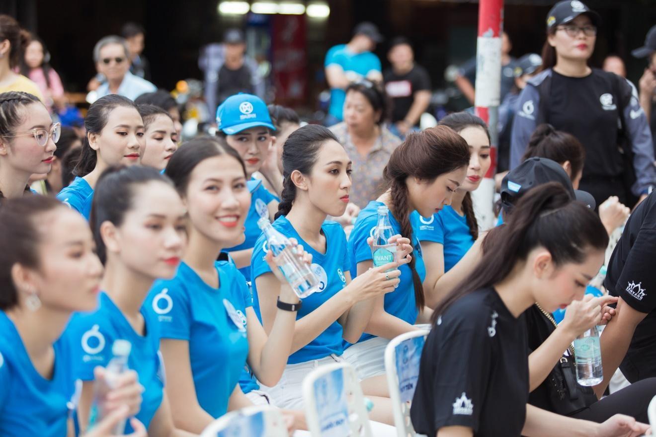 nước khoáng Vivant tại Miss World Việt Nam