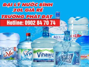 nước bình 20l giá rẻ