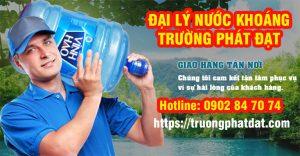 nhà phân phối nước khoáng, nước tinh khiết Trường Phát Đạt